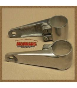 Soportes de faro aluminio pulido 35-41mm