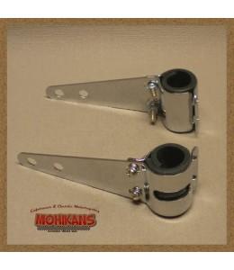 Soportes de faro cromado 30-38 mm