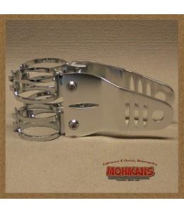 Soportes de faro Aluminio pulido G