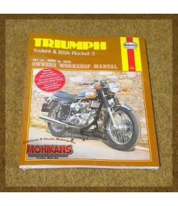 Manual reparación Haynes Triumph Trident & BSA Rocket 3