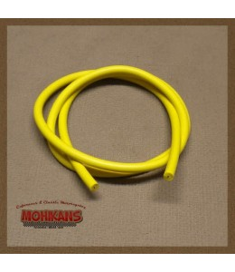 Cable de bujía amarillo 1m