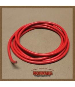Cable bujia silicona rojo 2m