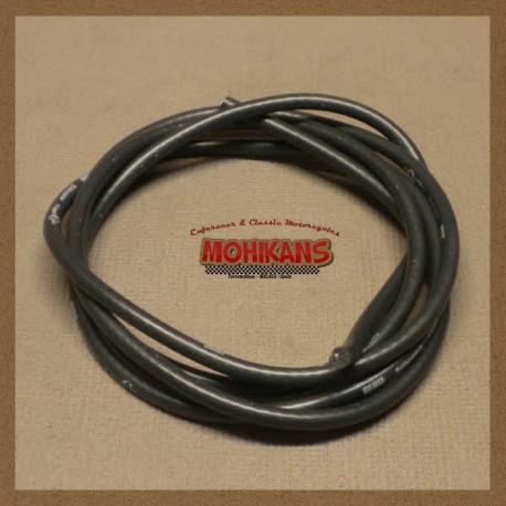 Cable bujía silicona negro 2m