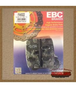 Pastillas de freno EBC FA022