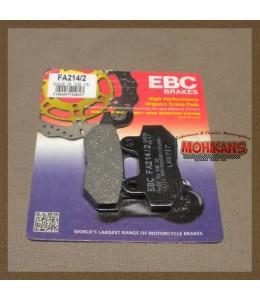 Pastillas de freno trasero EBC FA214/2