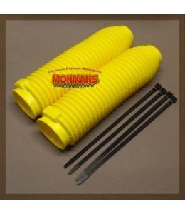 Fuelles de horquilla 40/60mm amarillo