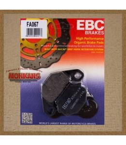 Pastillas de freno EBC FA067