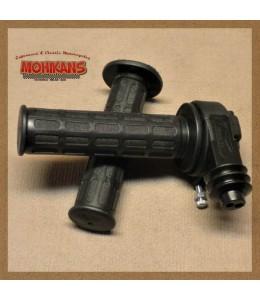Puño de gas Tommaselli mod. Daytona negro