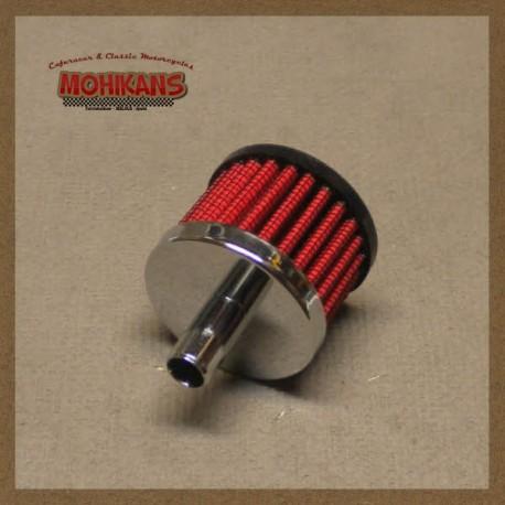 Filtro aire K&N respiradero motor y caja cambios 13mm goma