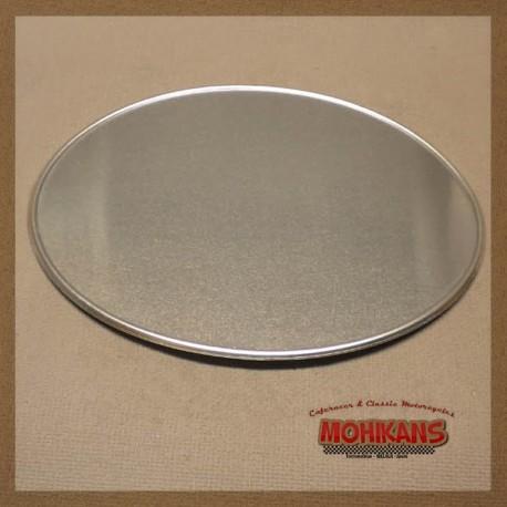 Portanumero aluminio abombado