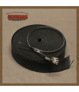 Cinta anticalorica negra 10m 30mm