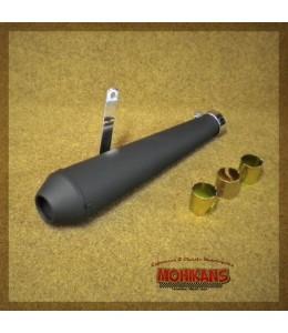 Megáfono tipo Cono negro mate 44cms