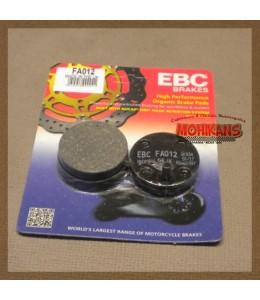 Pastillas de freno EBC FA012