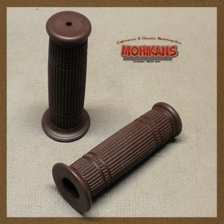 """Puños """"Bundolo"""" marrón oscuro"""