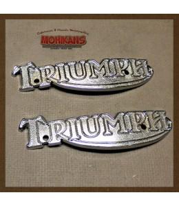 Logos depósito Triumph T140/T160