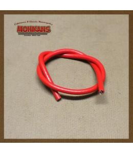 Cable bujia silicona rojo 50mm