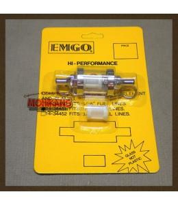 Filtro de gasolina cristal 6.5mm/6.5mm