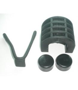 Kit silemblock-ajuste depósito gasolina Kawasaki kz400 D3