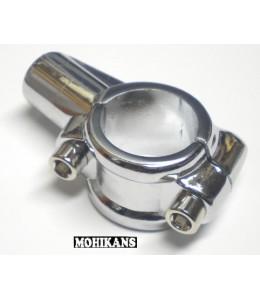 Abrazadera-adaptador M10 cromo izquierda