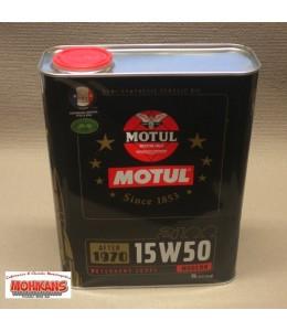 Motul Classic aceite semisintético 15W50 4T 2 litros