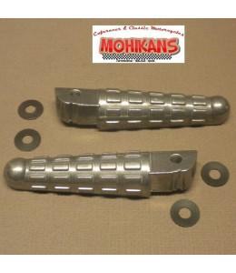 Reposapiés traseros aluminio