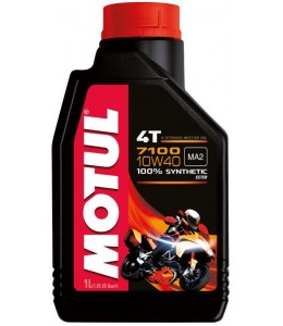 Motul aceite motor sintético 10W40 4T 1 litro
