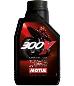 Motul 300V aceite motor sintético 10W40 4T 1 litro
