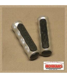 Reposapies delanteros aluminio-goma