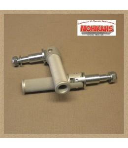 Reposapies delanteros Tarozzi aluminio 103mm