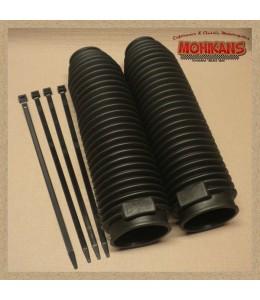 Fuelles de horquilla 40/60mm negro