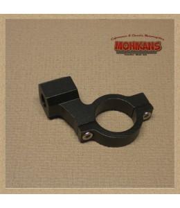 Abrazadera-adaptador negro 1 pulgada M10 derecha