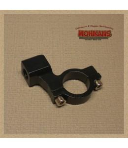 Abrazadera-adaptador negro 1 pulgada M10 izquierda
