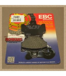 Pastillas de freno EBC FA081