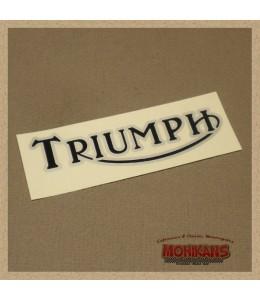 Logo depósito gasolina Triumph