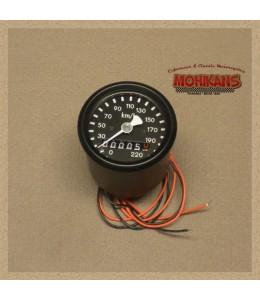 Mini velocímetro mecánico MMB 48mm