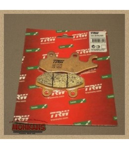Pastillas de freno trasero TRW-LUCAS sinterizadas Triumph Bonneville