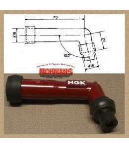 Pipeta NGK XB05F-R rojo