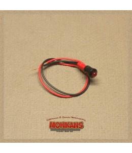 Mini-indicador de control led rojo N