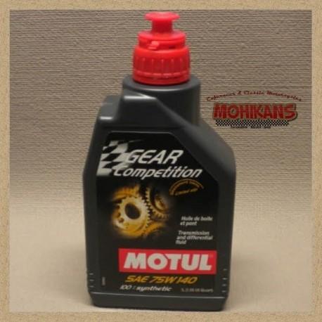 Motul GEAR COMPETICIÓN aceite de transmisión sintético 75W140 1L