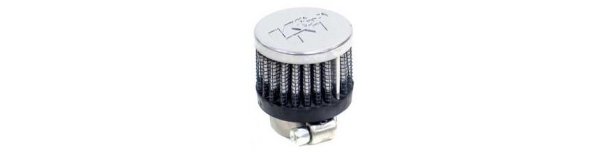 Filtros de aire para respiraderos de motores y cajas de cambios