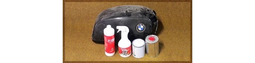 Saneamiento depósito gasolina