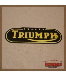Vinilo depósito Triumph 6 estrellas