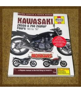 Manual reparación Kawasaki Zephyr 750/550