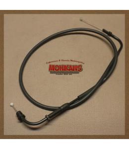 Cable acelerador cerrar gas carburación