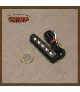 Luz de matrícula mini led 69mm