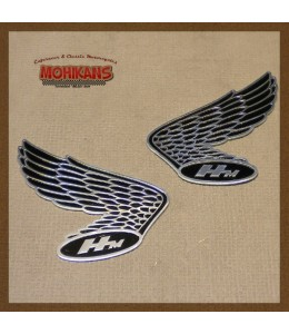 Emblema depósito Honda Wings HM