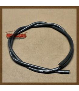 Cable bujía silicona negro 1m