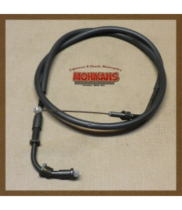Cable acelerador cerrar gas