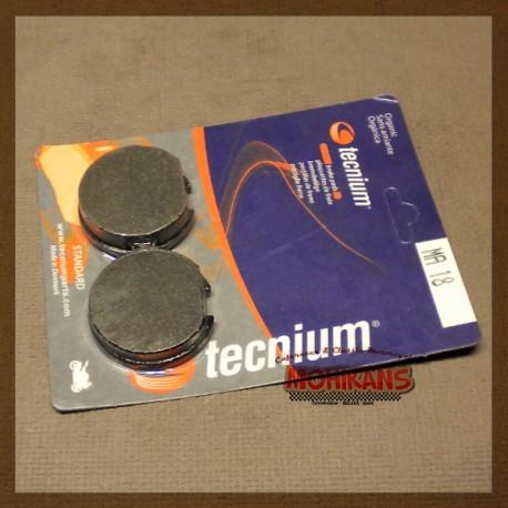 Pastillas de freno Tecnium
