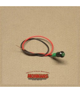 Mini-indicador de control led verde N